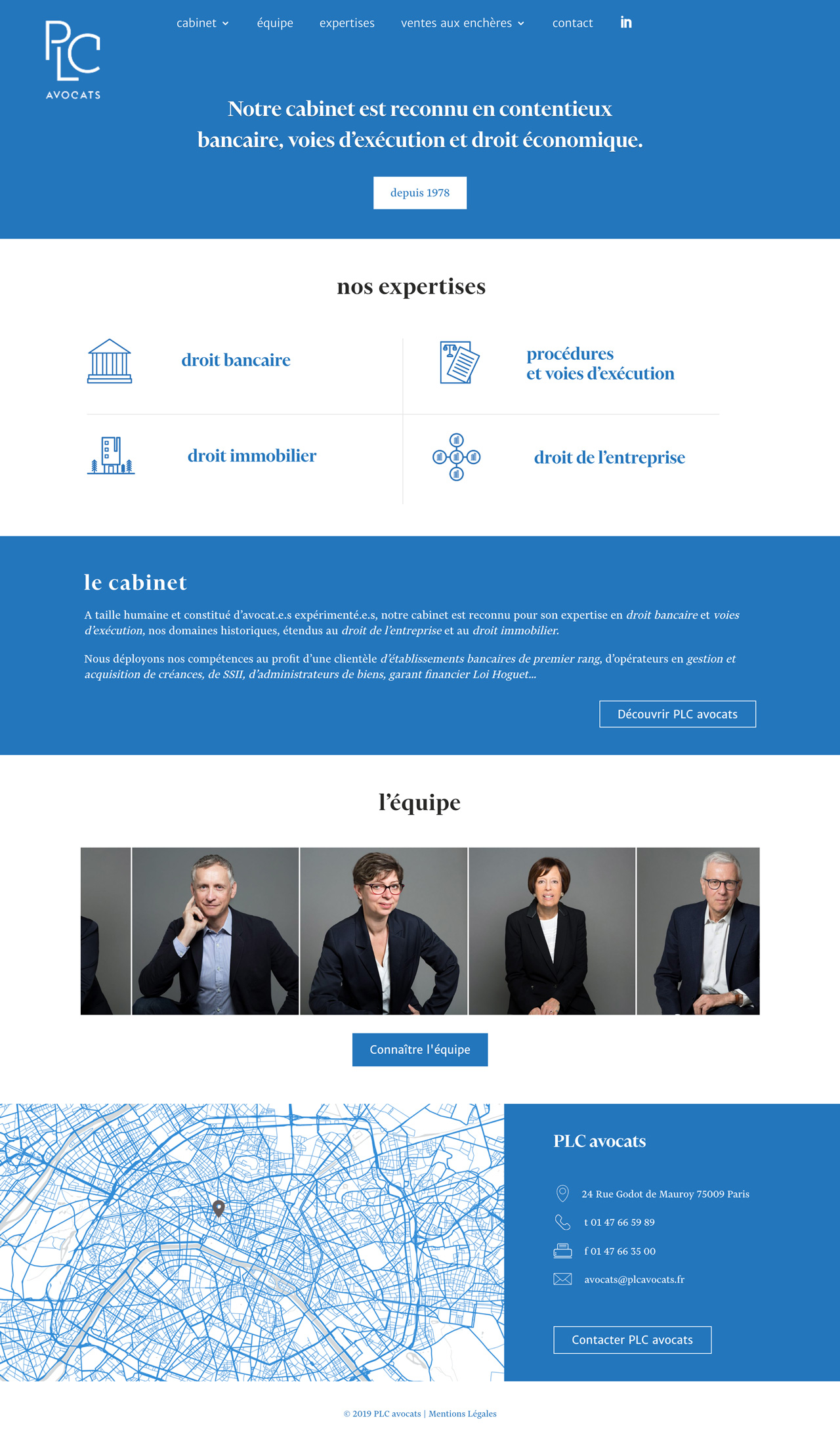 plcavocats.fr site internet